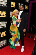 """ATLANTA, GEORGIA - MARCH 10: ReeMarkable and Chevy Clarke attend the premiere of """"Waka & Tammy: What The Flocka"""" at Republic on March 10, 2020 in Atlanta, Georgia. (Photo by Paras Griffin/Getty Images WE tv)"""