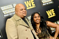 """ATLANTA, GEORGIA - MARCH 10: DJ Hurricane and Ayana Fite attend the premiere of """"Waka & Tammy: What The Flocka"""" at Republic on March 10, 2020 in Atlanta, Georgia. (Photo by Paras Griffin/Getty Images WE tv)"""