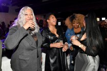 """ATLANTA, GEORGIA - MARCH 10: Debra Antney, Trina Braxton, Mona Smith, and Tammy Rivera attend the premiere of """"Waka & Tammy: What The Flocka"""" at Republic on March 10, 2020 in Atlanta, Georgia. (Photo by Paras Griffin/Getty Images WE tv)"""