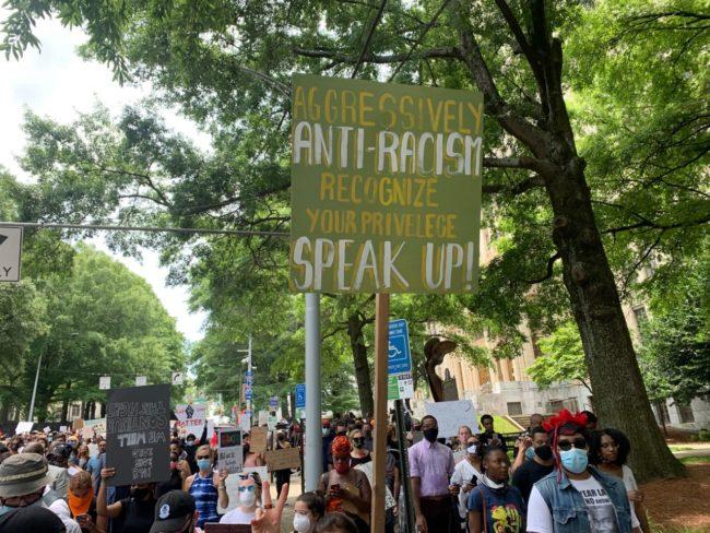 Atlanta Daily World protest photos