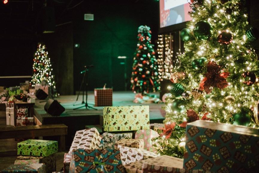 Christmas Presents at the Atlanta Dream Center