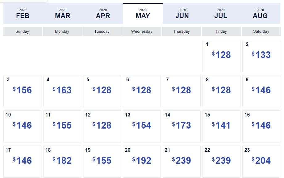 How to get cheapest fares with Southwest Low Fare Calendar