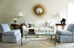39) Symmetry is the defining force in a living room by Robert Brown.