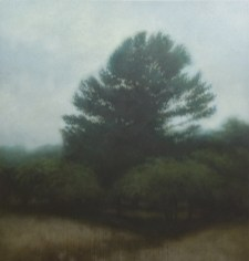 """Pinus at the Horse Farm"" (96"" x 92"") acrylic on canvas by Atlanta artist Michael Dines, price upon request. (404) 522-9390; michaeldines.com"