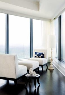 """Barbara Westbrook""""s exquisitely outfitted designer model at Sovereign doesn""""t cut corners, making the most of innovative, scene-stealing architecture by Smallwood, Reynolds, Stewart, Stewart & Associates."""