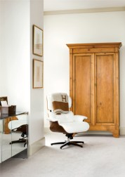 The Eames lounge chair was a special piece the couple had set aside for their next home.