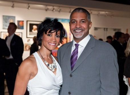 Co-chair Brenda Freeman and Carl Washington