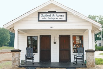Quickly gaining recognition for its profusion of quality inventory, Oakleaf & Acorn features locally made products, including Marvin D. Poole Knives from Commerce, Southern Proper bowties from Atlanta, Lonesome Pine game calls from Braselton and stylish Shuron specs from Greenville, South Carolina.