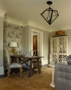 SILVER Residential Showhouse J. Hirsch Interior Design, Janie Hirsch, ASID