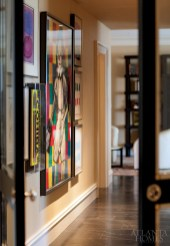The homeowners have collected works of art by some of the most celebrated artists of the 20th century, including Jim Dine, Ida Kohlmeyer, Frank Stella and Steve Kaufman.