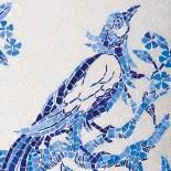 """""""Bird and Branch 4"""" New Ravena mosaic tiles, available through Renaissance Tile & Bath. (404) 231-9203; renaissancetileand-bath.com."""
