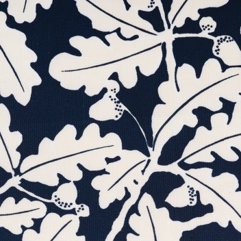 """""""oak leaf"""" fabric by travers, Available through ainsworth-noah &""""Associates. Available to the trade only."""