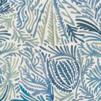 """""""Andros"""" fabric by Clarence House, available through Jerry Pair"""