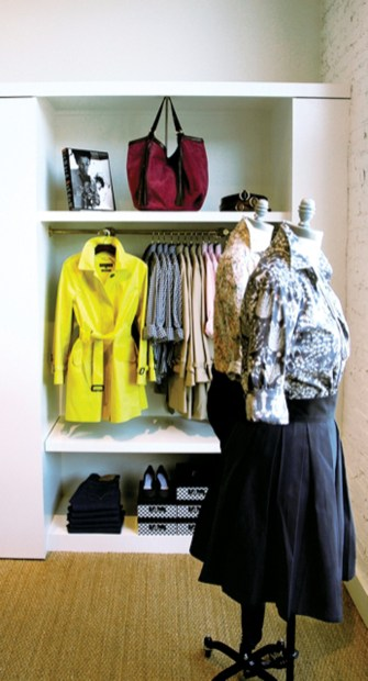 """Ann Mashburn""""s stylish westside boutique, along with the store""""s popular ballet flats."""