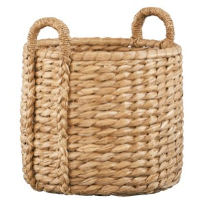 Handwoven Basket, $59.95. Crate & Barrel, Lenox Square, 3393 Peachtree Rd. NE, Atlanta 30326. (404) 239-0008; crateandbarrel.com
