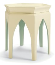 "Baker Studio ""Marrakech"" side table. Available to the trade only through Baker Knapp & Tubbs, ADAC, 351 Peachtree Hills Ave. NE, Suite 206, Atlanta 30305. (404) 266-0501; kohlerinteriors.com"