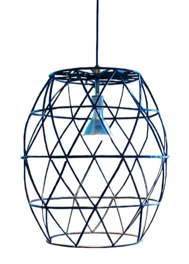 Black Cage Light, $695. South of Market