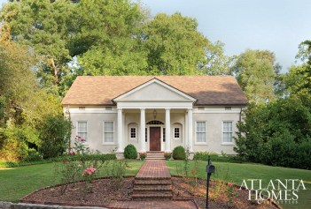 residential A Residence in the Greek Revival Style Laura DePree, Laura Howard Depree, Architect