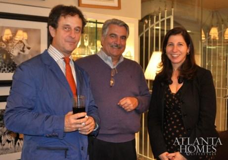 Thomas Bastide, Mark Hafer and Michelle Klein
