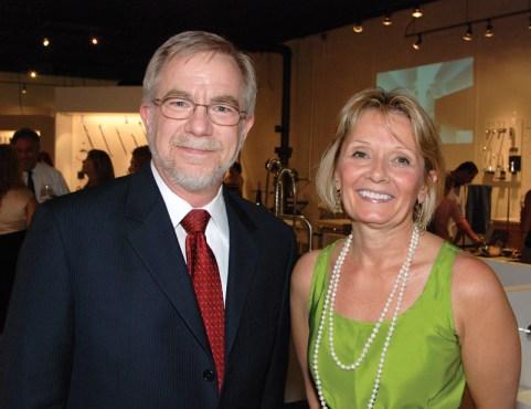 Julie Koch, Elegant Additions; John Spector, Dornbracht USA