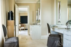 The well-appointed master bath is an oasis of luxury.