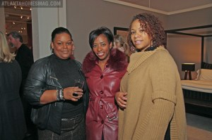Michelle Clark, Kimberly Ward and Shirl Parker