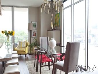 "Apartment, Condominium, Loft (Smaller Residences) // Gold Kerry Howard, Allied ASID, KMH Interiors ""The Brookwood Residence"""