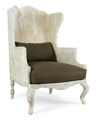 "Mr. Brown ""Luberon"" chair. Available to the trade through Holland & Company/Macrae, ADAC, 351 Peachtree Hills Ave. NE, Suite 238, Atlanta 30305. (404) 233-0233; hollandandcompany.com"