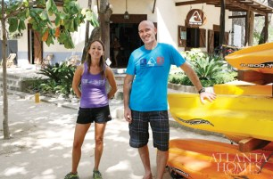 Jake and Amy Jacobs, owners of Pura Vida Ride