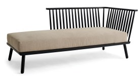 Modern Windsor Chaise, $699. Available at West Elm, 260 18th Street NW, Atlanta 30363. (404) 541-9310; westelm.com