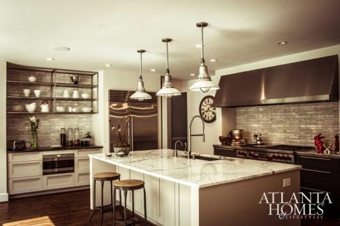 "Kitchen or Bath // Gold Pipa Bradbury Ginschel, ASID, Pipa Bradbury Design ""McLeod Residence"""