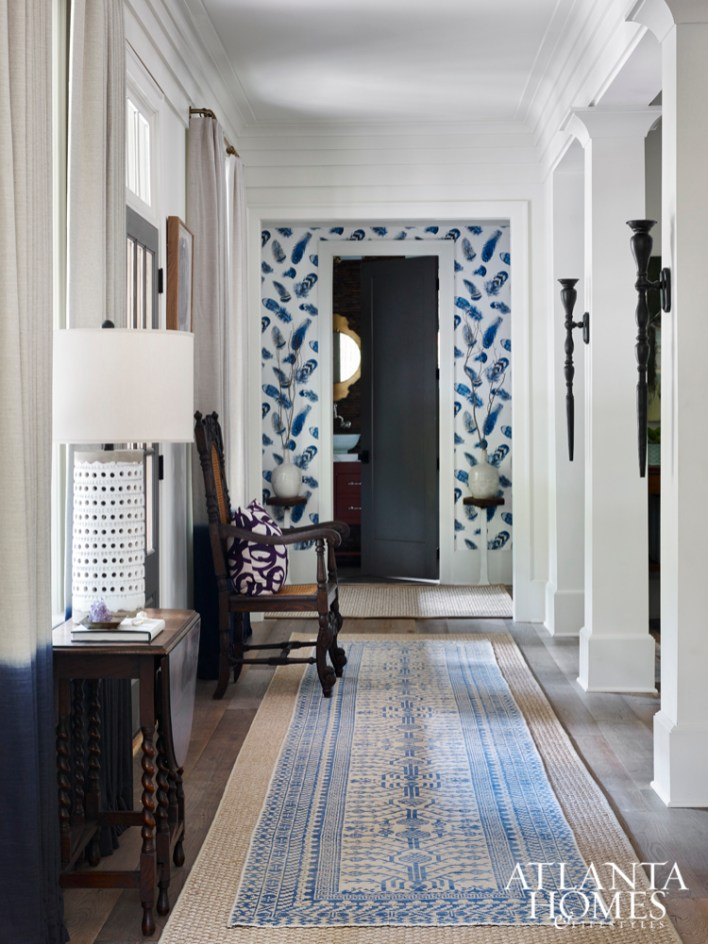 Lyndsy Woods brought her vision of a modern farmhouse aesthetic to life in this trio of spaces by mixing old-world charm with contemporary flourishes.
