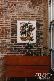 A creative photograph depicts an amalgam of ingredients selected by the late chef Ryan Hidinger.