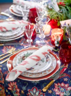 """""""Tabletops should bring joy as well look pretty,"""" says Rollins."""