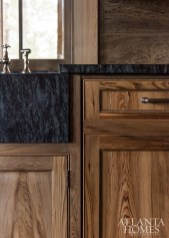 a kitchen cabinetry detail