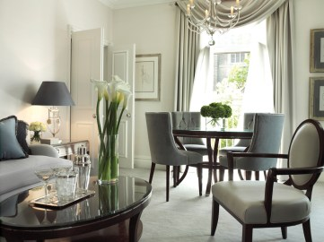Suite at the Berkeley Hotel, London, part of the Maybourne Hotel Group.