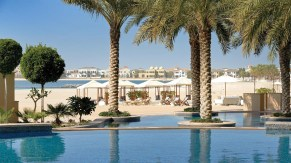 Pool at Fairmont Hotels The Palm in Dubai