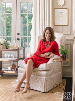 Lauren DeLoach in her personal dining room