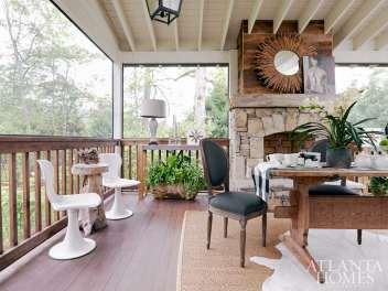 Meg Harrington and Ann Huff Huff Harrington Home / Back Porch