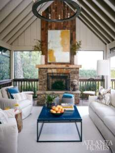 Alison Womack Jowers Womack Jowers Interiors / Back Porch
