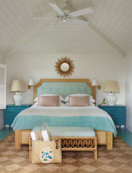 British Colonial style abounds in the villas of Bahama House.