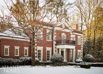 This family of five enjoyed the classic architecture of this William H. Harrison-designed Buckhead residence.