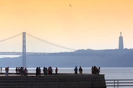 Sweeping views of the River Tagus in Bélem.