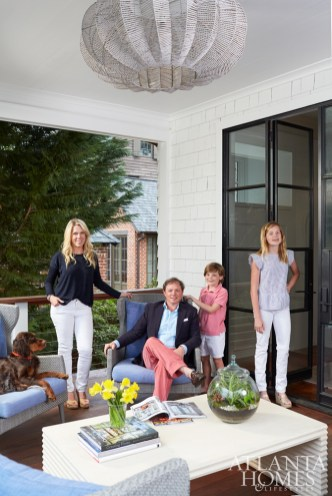 """""""It's great to feel like we're in a new home without ever having changed addresses. You can bet we're ready to do this again in 10 years."""" —Bonneau Ansley"""