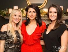 Emily Kirkland, Anna Braund and Kaitlyn Moore of Anna Braund Interiors