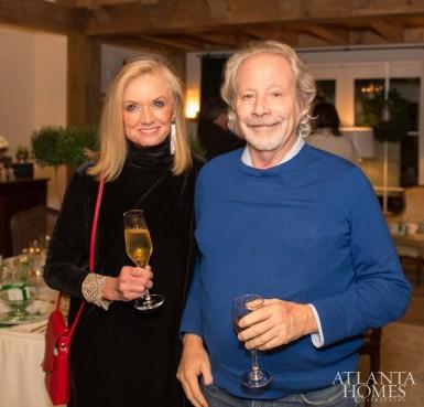 Gina Christman of Atlanta Homes & Lifestyles and Bill Harrison of Harrison Design