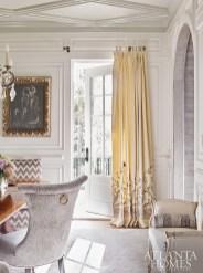 """I'd call the home's aesthetic an elegant take on rustic living.""—Lauren Davenport Imber"