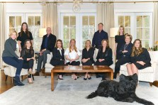 The HOME team includes Studie Young, Mary Stuart Iverson, Alden Treadway, Travis Reed, Amy Bubes, Brittney Cleveland, Kathy Olmstead, Michael Kriethe, Cathy Boston, Farley Sirockman, Carol Young and Kiley King. Photo by Elisabeth Akly.