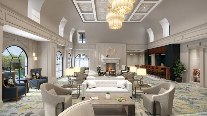 Enviable amenities include a heated pool, full-service salon and spa, florist shop by Terry Furuta, concierge services and round-the-clock security.