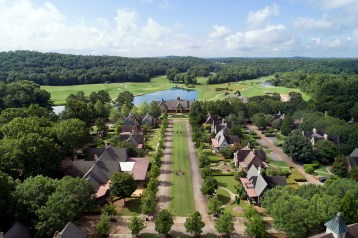 The Barnsley Resort is made up of 3,000 picturesque acres in the Blue Ridge Mountain foothills.
